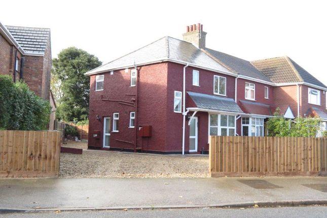 Thumbnail Flat to rent in Grange Road, Peterborough