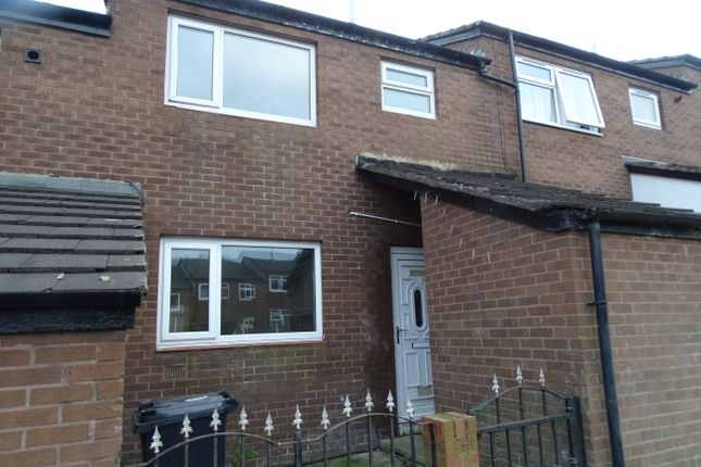 Thumbnail Terraced house to rent in Snowden Lawn, Bramley