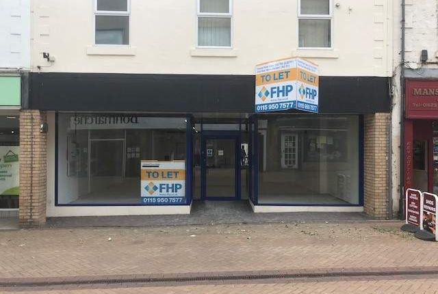 Thumbnail Retail premises to let in 55 West Gate, 55 West Gate, Mansfield