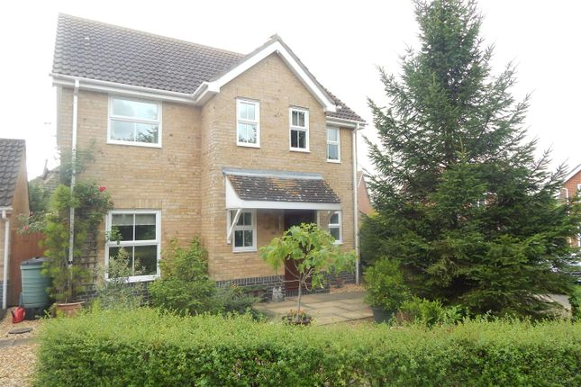 Thumbnail Detached house for sale in Izzard Rise, Great Paxton, St. Neots