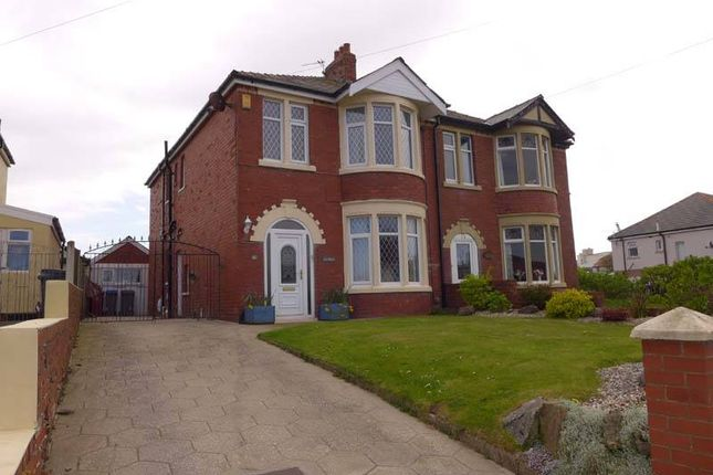 Thumbnail Semi-detached house for sale in Mossom Lane, Thornton-Cleveleys
