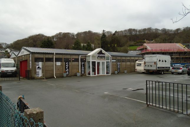 Thumbnail Retail premises for sale in Rear Of 154 High Street, Porthmadog, Gwynedd