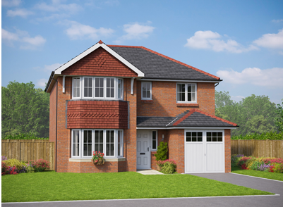 Thumbnail Detached house for sale in The Dolwen, Plot 187, Dyserth Road, Rhyl