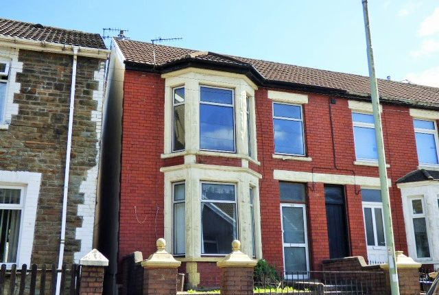 Thumbnail End terrace house for sale in Victoria Street, Pontycymmer