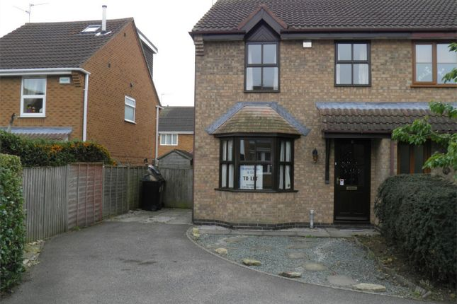 Thumbnail Semi-detached house to rent in Foxley Court, Bourne, Lincolnshire