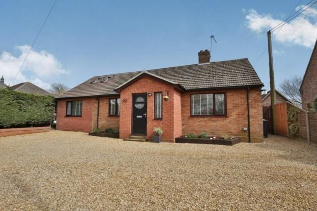 Thumbnail Bungalow for sale in Necton, Swaffham, Norfolk