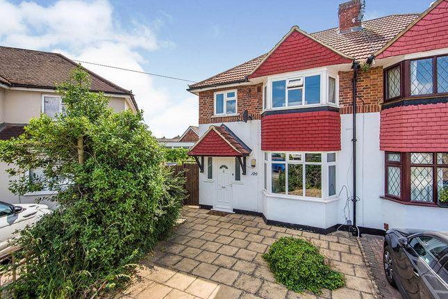 Thumbnail Semi-detached house for sale in Ashley Drive, Whitton, Twickenham