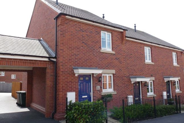 2 bed terraced house to rent in Napier Close, Castle Gresley, Swadlincote