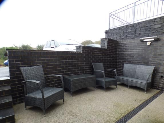 Patio Garden of Bay View Apartments, Beach Road, Benllech, Anglesey LL74