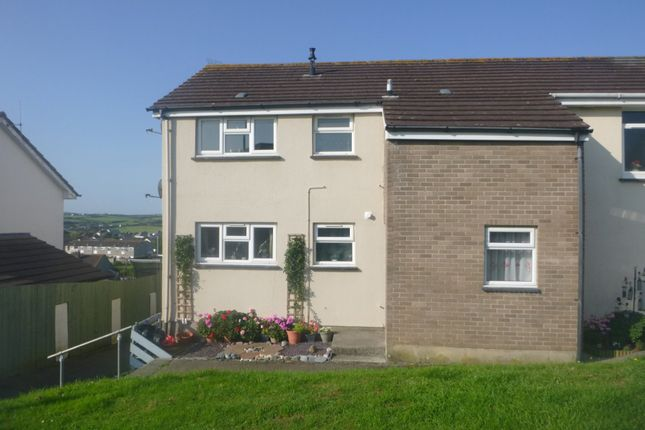 Thumbnail Flat to rent in Treleven Road, Bude