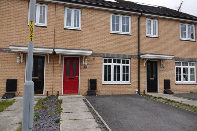 Thumbnail Terraced house to rent in Aidan Court, Middlesbrough