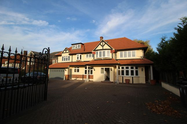 Thumbnail Detached house for sale in Hainault Road, Chigwell, Essex