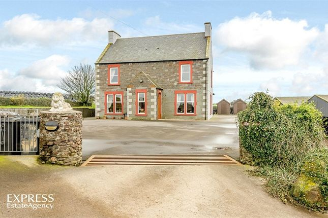 Thumbnail Detached house for sale in Kirkcolm, Stranraer, Dumfries And Galloway