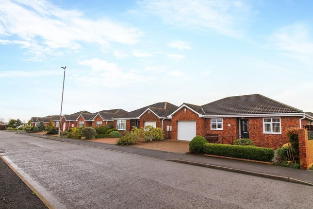 Thumbnail Detached bungalow for sale in Windsor Drive, Blyth