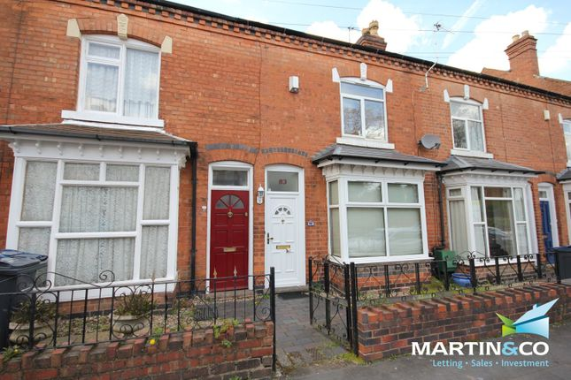 Thumbnail Terraced house to rent in Clarence Road, Harborne