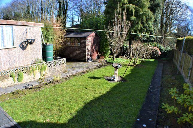 Rear Garden of Riverside Avenue, Farington Moss, Leyland PR26