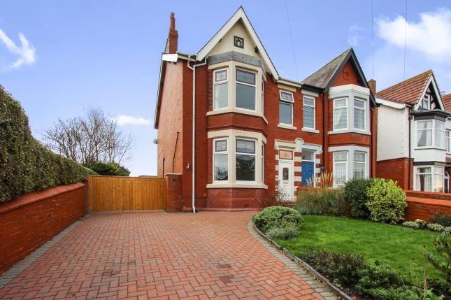 Thumbnail Semi-detached house for sale in Beach Avenue, Lytham St. Annes, Lancashire, England