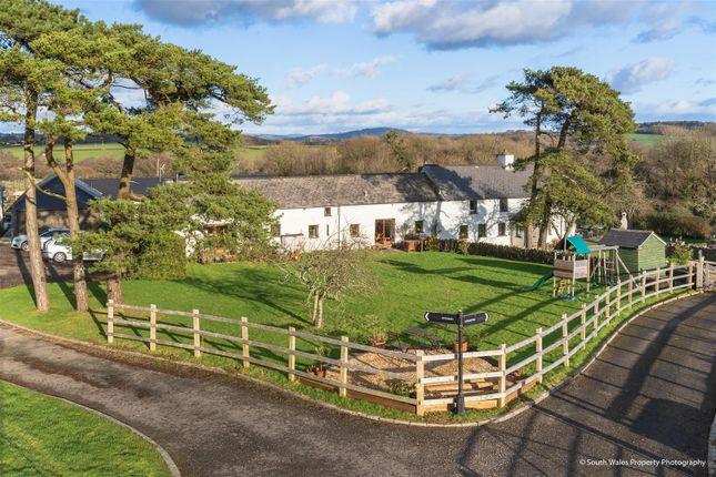 Thumbnail Barn conversion for sale in Fern Cottage, Llwyn Nwdog Farm, Nr. Ystradowen