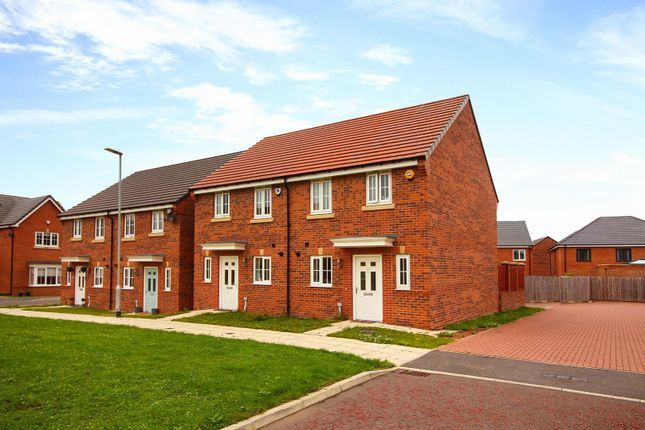 Thumbnail Semi-detached house for sale in Jefferson Grove, Seaton Delaval, Whitley Bay