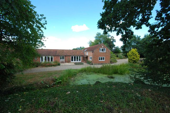 Thumbnail Detached house to rent in Valley Farm Lane, Stoke Holy Cross, Norwich