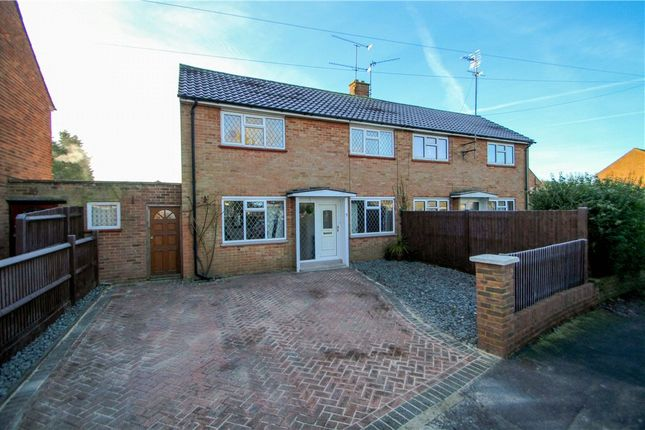 Thumbnail Semi-detached house for sale in Bracknell Close, Camberley, Surrey