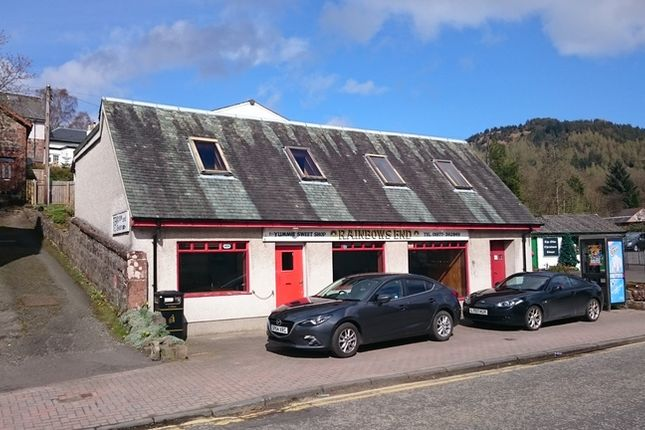 Thumbnail Retail premises to let in Main Street, Aberfoyle, Stirling