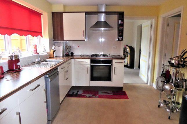 Kitchen Area of Clos Pwll Clai, Tondu, Bridgend, Bridgend County. CF32