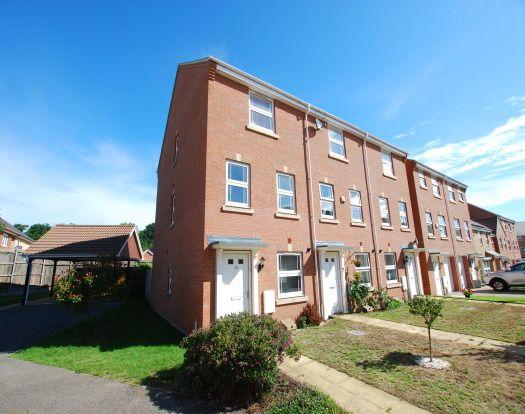 Thumbnail End terrace house to rent in Drakes Avenue, Leighton Buzzard