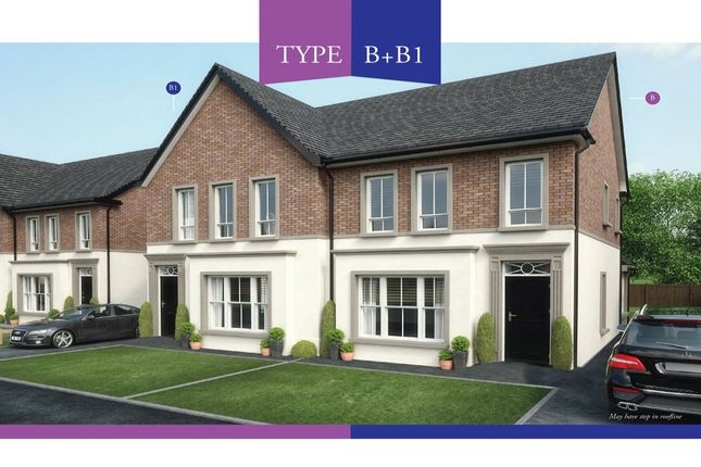 Thumbnail Semi-detached house to rent in Lynn Hall Lane, Bangor