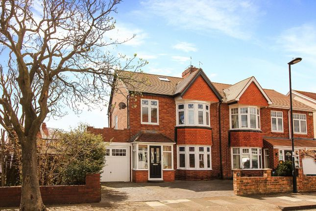 4 bed semi-detached house for sale in Gorsedene Road, Whitley Bay NE26