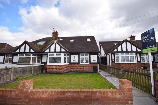 Thumbnail Semi-detached bungalow for sale in The Ridge, Whitton, Twickenham