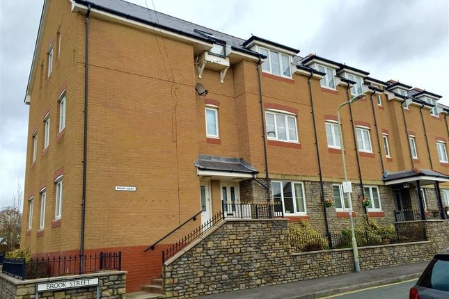 Thumbnail Flat to rent in Brook Court, Brook Street, Bridgend