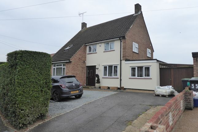 Thumbnail Semi-detached house for sale in Ongar Road, Ongar