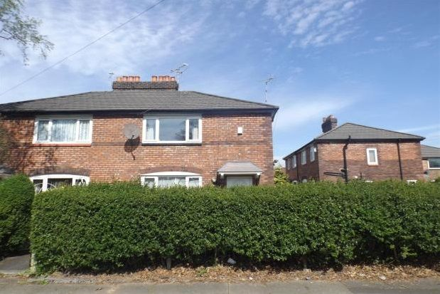 Thumbnail Property to rent in Westcroft Road, Withington, Manchester
