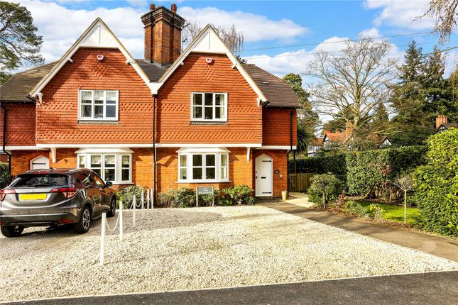 Thumbnail Semi-detached house for sale in Rise Road, Sunninghill, Sunningdale, Berkshire