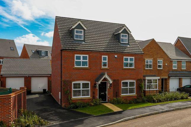 Thumbnail Detached house for sale in Sandy Hill Lane, Moulton, Northampton