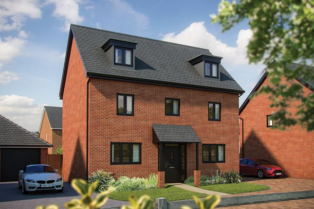 "Thumbnail Detached house for sale in ""The Yew"" at London Road, Norman Cross, Peterborough"