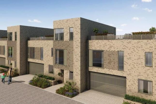 Thumbnail Town house for sale in The Barrington At Great Kneighton, Long Road, Trumpington, Cambridge