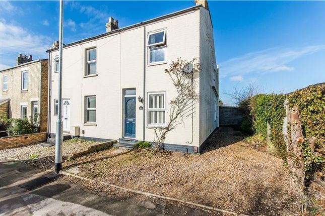Thumbnail Semi-detached house for sale in High Street, Cherry Hinton, Cambridge