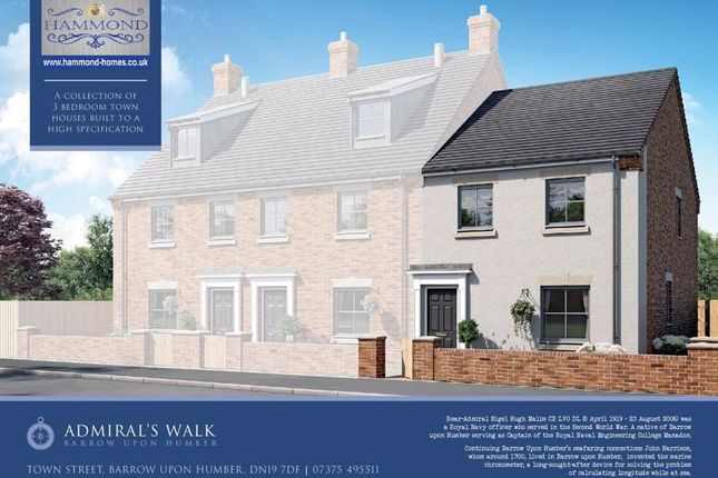 Thumbnail Terraced house for sale in Town Street, Barrow-Upon-Humber