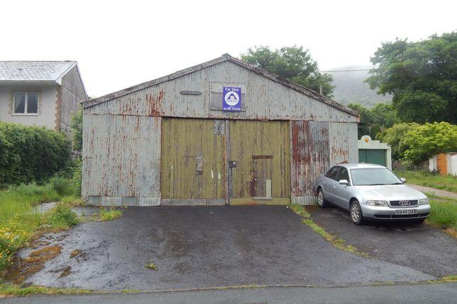 Garage, Bennett Street, Blaina NP13