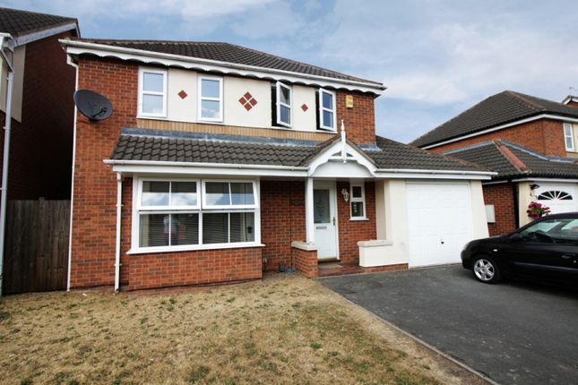 Thumbnail Detached house for sale in Jewsbury Way, Braunstone, Leicestershire