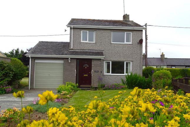 Thumbnail Detached house for sale in Ty'n Rhos Estate, Penysarn, Amlwch, Ynys Mon