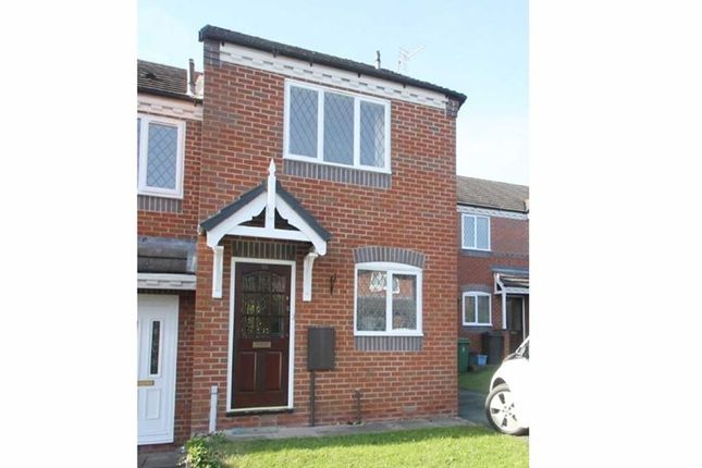 Thumbnail End terrace house to rent in Sandown Crescent, Bowbrook, Shrewsbury