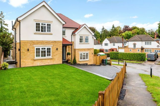 Thumbnail 4 bed detached house for sale in Downs Way, Tadworth
