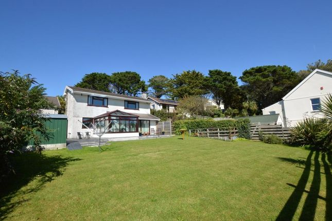 Thumbnail Detached house for sale in Chyverton Close, Newquay, Cornwall