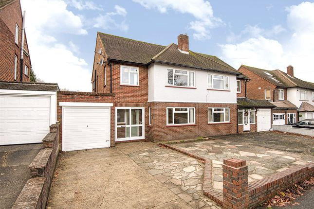 Thumbnail Semi-detached house for sale in Chelsfield Lane, Orpington, Kent