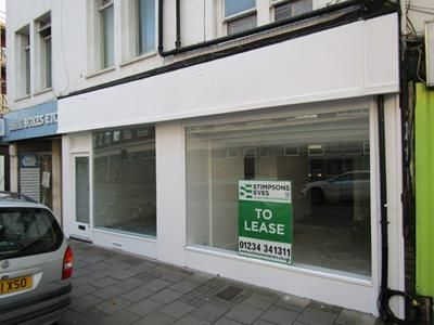 Thumbnail Retail premises to let in 22-24 St. Loyes Street, Bedford, Bedfordshire