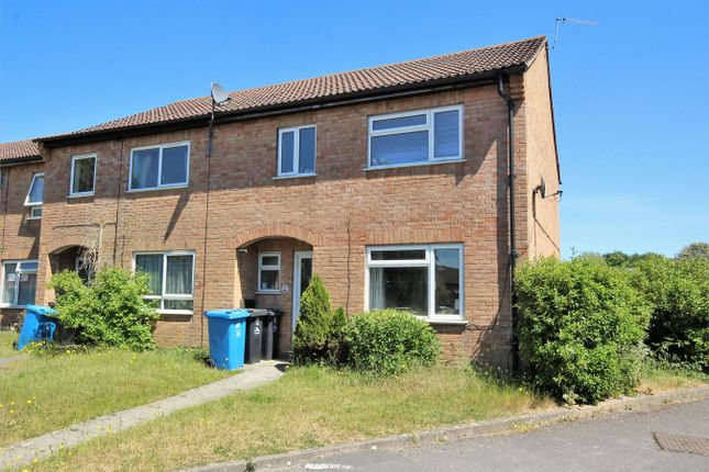 3 bed end terrace house for sale in Thorncombe Close, Canford Heath, Poole, Dorset BH17