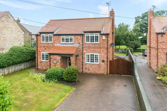 Thumbnail Detached house for sale in Main Street, Bickerton, Wetherby